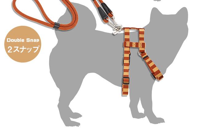 ラロック ミッドウォークリード Mサイズ 【中・大型犬用リード】 使用例3