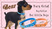 ベアーカラー SSサイズ 超小型犬用首輪